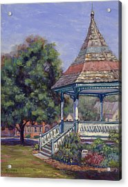 Gazebo New Boston Acrylic Print