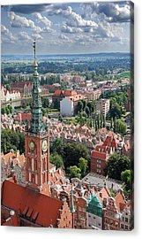 Gdansk Acrylic Print by Jaroslaw Grudzinski