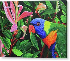 G'day, Mate Acrylic Print by Julie Turner