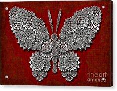 Gear Butterfly Acrylic Print