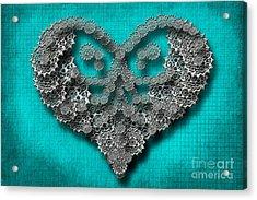 Gear Heart Acrylic Print