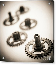 Gear Wheels. Acrylic Print