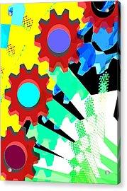 Gears 5/ Flowers Acrylic Print