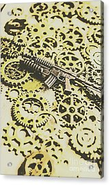 Gears Of War Acrylic Print by Jorgo Photography - Wall Art Gallery