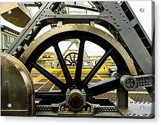 Gears Work Acrylic Print