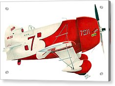 Gee Bee Acrylic Print by Lyle Brown