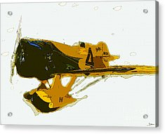 Gee Bee Model Z Acrylic Print by David Lee Thompson