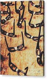 Geeks Nobody Scene Acrylic Print
