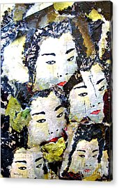 Geisha Girls Acrylic Print