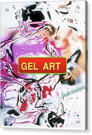 Gel Art #1 Acrylic Print by Jack Eadon