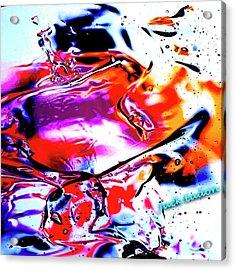 Gel Art #14 Acrylic Print by Jack Eadon