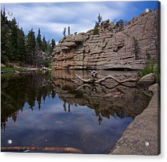 Gem Lake Acrylic Print