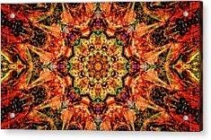 Gem Pattern Acrylic Print