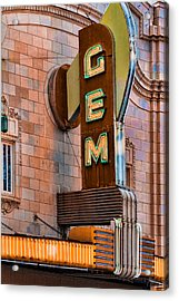 Gem Theater In Kansas City Acrylic Print