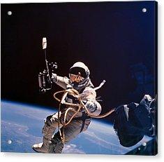 Gemini 4 Astronaut Edward H. White Acrylic Print by Nasa