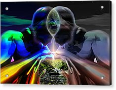 Gemini Dream Acrylic Print by Shadowlea Is