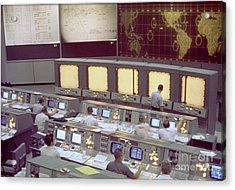 Gemini Mission Control Acrylic Print