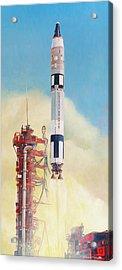 Gemini-titan Launch Acrylic Print