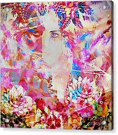 Acrylic Print featuring the photograph Gemini Woman by Eleni Mac Synodinos