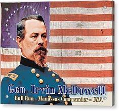 Gen Irvin Mcdowell Digital Art By Harry West