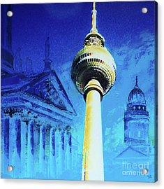 Gendarmenmarkt And Televisiontower Acrylic Print
