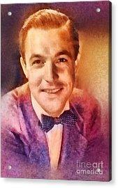 Gene Kelly, Vintage Hollywood Legend Acrylic Print by Frank Falcon