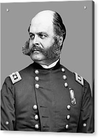 General Burnside Acrylic Print by War Is Hell Store
