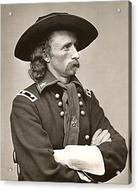 General Custer Acrylic Print by Bill Cannon