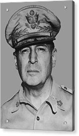 General Douglas Macarthur Acrylic Print