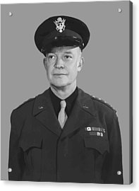 General Dwight D. Eisenhower Acrylic Print