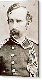 General George A Custer, 1876 Acrylic Print by David Frances Barry