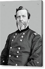 General George Thomas Acrylic Print by War Is Hell Store
