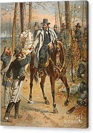 General Grant In The Wilderness Campaign 5th May 1864 Acrylic Print by Henry Alexander Ogden