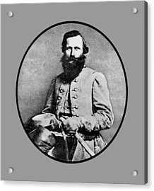 General Jeb Stuart Acrylic Print by War Is Hell Store