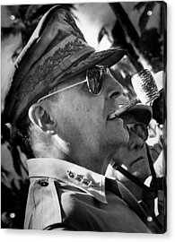 General Macarthur Acrylic Print by War Is Hell Store
