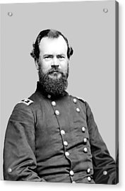 General Mcpherson Acrylic Print by War Is Hell Store