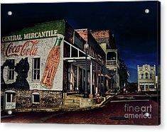 General Mercantile Acrylic Print by Savannah Gibbs