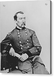 General Phil Sheridan Acrylic Print by War Is Hell Store
