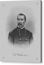 General Philip Sheridan Acrylic Print by War Is Hell Store