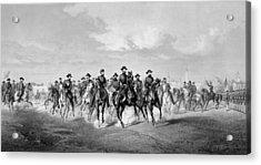 General Sherman At Savannah Georgia Acrylic Print by War Is Hell Store