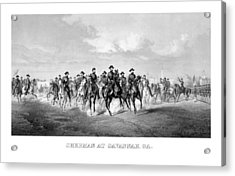 General Sherman At Savannah Acrylic Print by War Is Hell Store