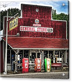 General Store Cataract In. Acrylic Print