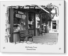 General Store Acrylic Print by Jim  Darnall