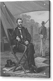 General U.s. Grant Acrylic Print
