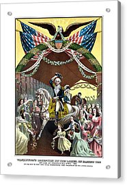 General Washington's Reception At Trenton Acrylic Print