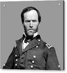 General William Tecumseh Sherman Acrylic Print