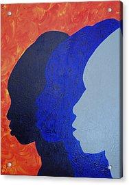 Generation Acrylic Print by Kayon Cox