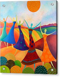 Generational Dance Acrylic Print by Anne Nye