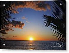 Generic Sunset Acrylic Print by Brandon Tabiolo - Printscapes
