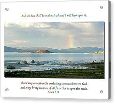 Genesis 9 Verse 16 Acrylic Print